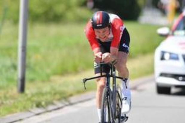 Tim Wellens pakt de tijdritzege in Ronde van België, Evenepoel blijft leider