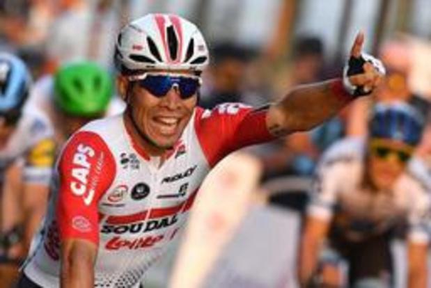 Victoire au sprint de Caleb Ewan à la Brussels Cycling Classic