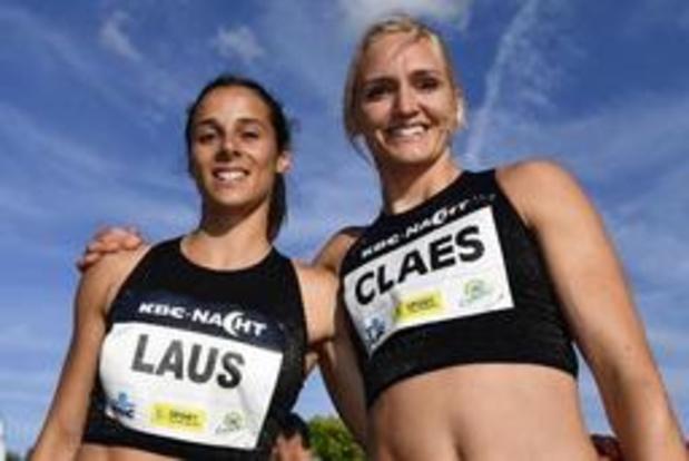 Hanne Claes sloopt in Brussel limiet op 400 meter horden