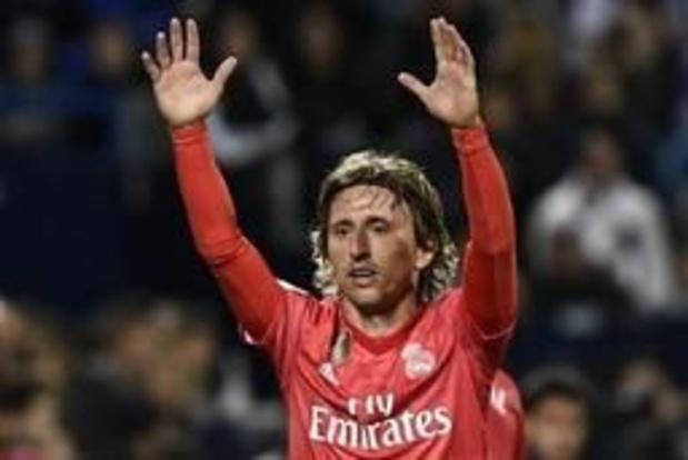 Belgen in het buitenland - Real Madrid geraakt niet voorbij Leganés
