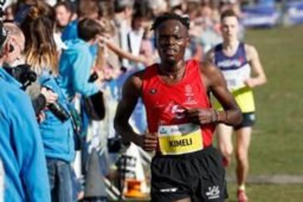 Isaac Kimeli en Robin Hendrix plaatsen zich in Stanford voor 5.000 meter in Doha
