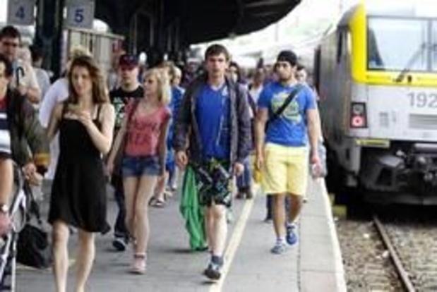 NMBS legt komend weekend dertig extra treinen in naar de kust