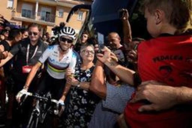 Valverde triomfeert op Mas de la Costa, Lopez neemt leiderstrui opnieuw over van Teuns