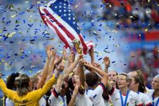 Classement FIFA: les Américaines en tête après leur sacre, nouveau meilleur classement pour la Belgique