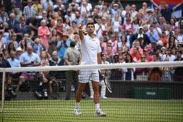 Wimbledon - Djokovic verovert vijfde titel op All England Club na zinderende finale tegen Federer