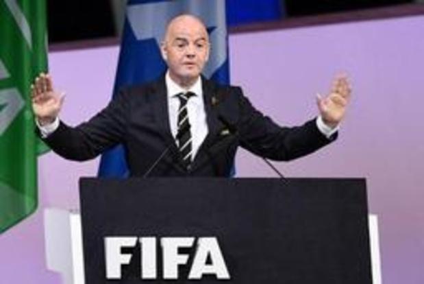 Gianni Infantino mag aan tweede mandaat als FIFA-voorzitter beginnen