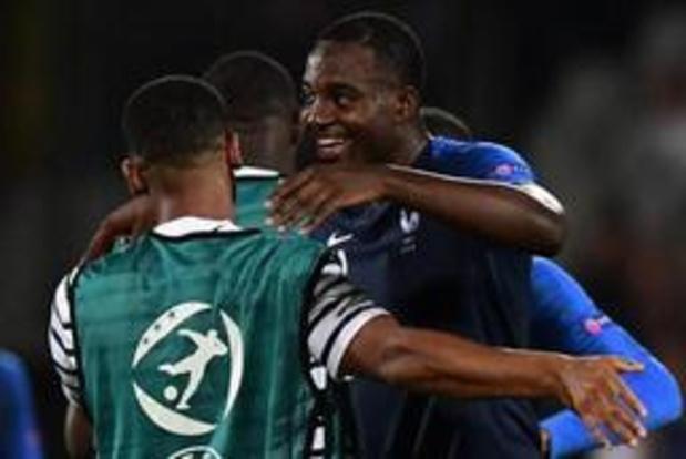 EK U21 (m) - Jonge Duivels zijn uitgeschakeld na zege van Frankrijk tegen Kroatië