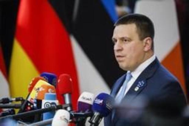 Estse premier Ratas krijgt vertrouwen van parlement