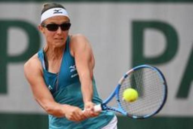 Kirsten Flipkens is niet opgewassen tegen olympisch kampioene Puig