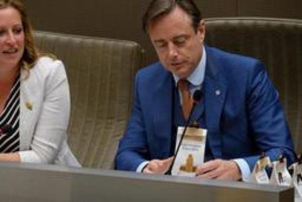 De Wever plaide à présent en faveur d'une baisse du taux de TVA sur l'électricité