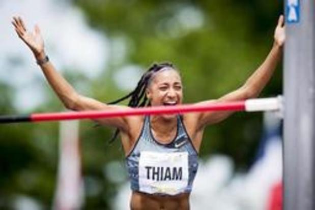 Nafi Thiam bat le record du monde du saut en hauteur dans un heptathlon