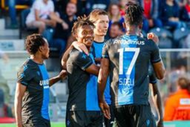 Jupiler Pro League - Club Brugge behoudt maximum na 0-2 zege tegen KV Oostende