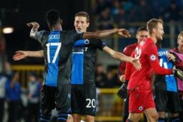 Club/Genk en Anderlecht/Standard kleuren eerste Super Sunday