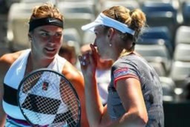 WTA Miami - Elise Mertens en Aryna Sabalenka winnen na Indian Wells ook Miami