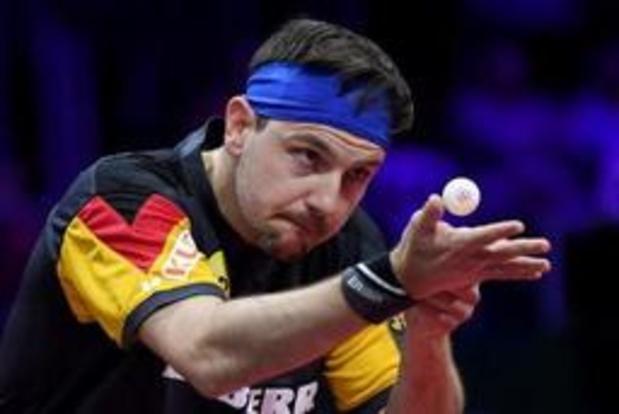 Euro de tennis de table - L'Allemagne sacrée pour la huitième fois chez les messieurs