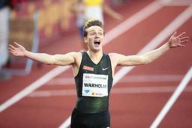 Diamond League - Le Norvégien Warholm bat le record d'Europe du 400 m haies vieux de près de 24 ans à Oslo