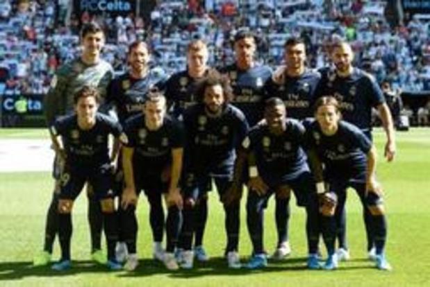 Belgen in het buitenland - Real Madrid geraakt zonder Hazard met tien spelers voorbij Celta