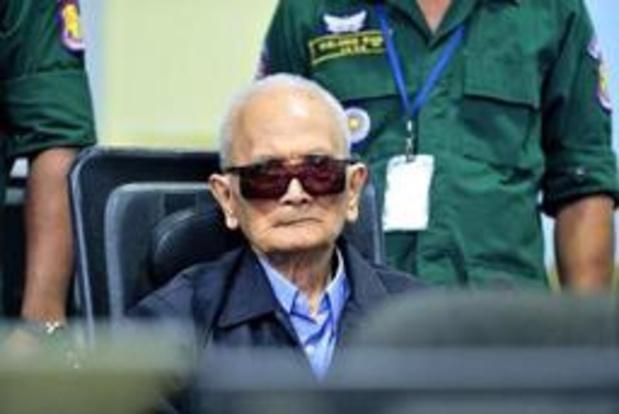 Vroegere ideoloog van Rode Khmer is overleden