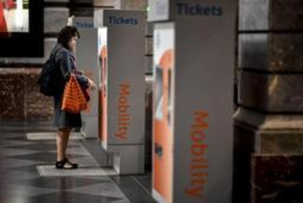 Ticketautomaten NMBS werken opnieuw