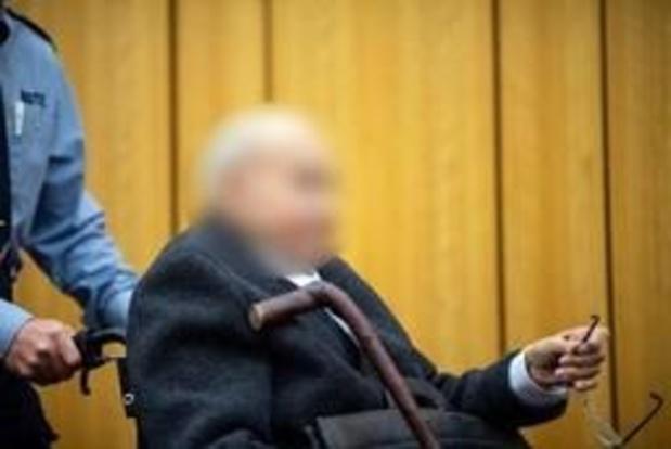 Proces tegen SS-kampbewaker stopgezet wegens gezondheidsproblemen