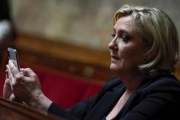 France: convoquée, Marine Le Pen ne se présente pas devant le juge d'instruction