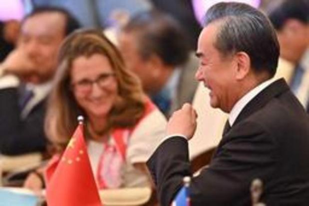 Ministres des Affaires étrangères canadien et chinois se reparlent après l'affaire Huawei