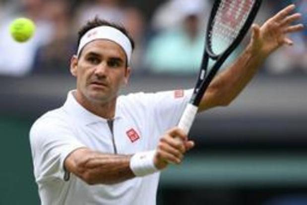 Federer overkomt dipje op Wimbledon
