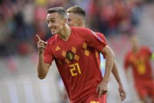 Diables Rouges - Timothy Castagne est fier de son premier but en équipe nationale