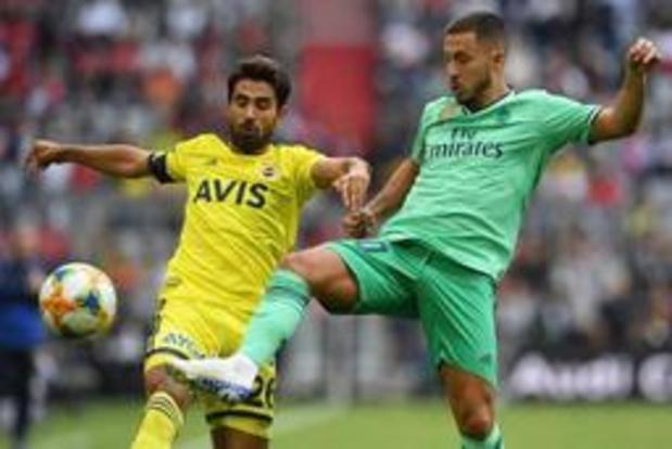 Real Madrid en Hazard boeken eerste oefenzege van het seizoen