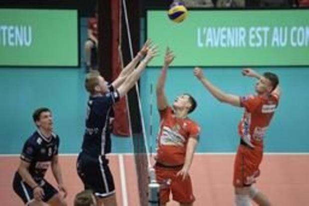 EuroMillions Volley League - Roulers s'impose à Maaseik et revient à 2-2 en finale des playoffs du championnat