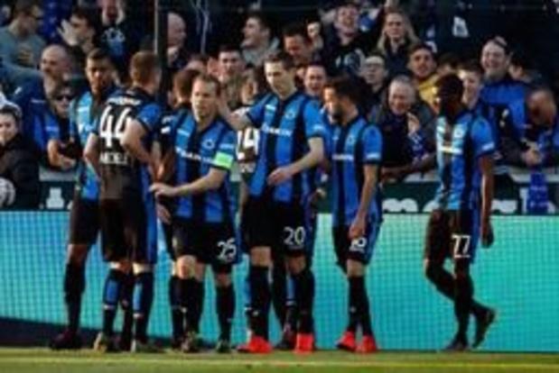Jupiler Pro League - Club Brugge wint overtuigend van tien Buffalo's
