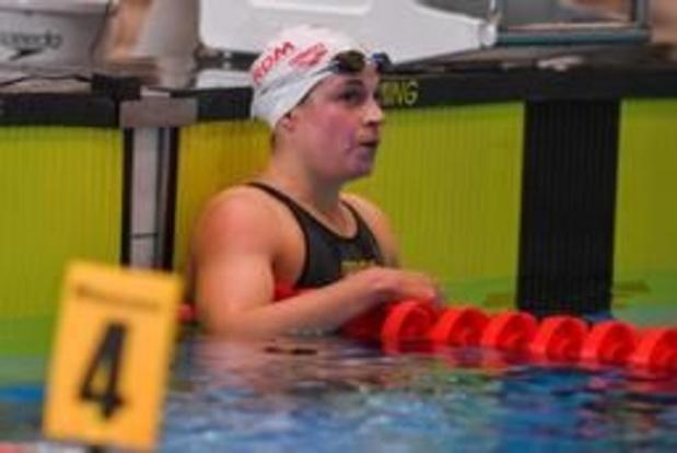 Fanny Lecluyse réussit le minimum pour les JO 2020 sur 200m brasse