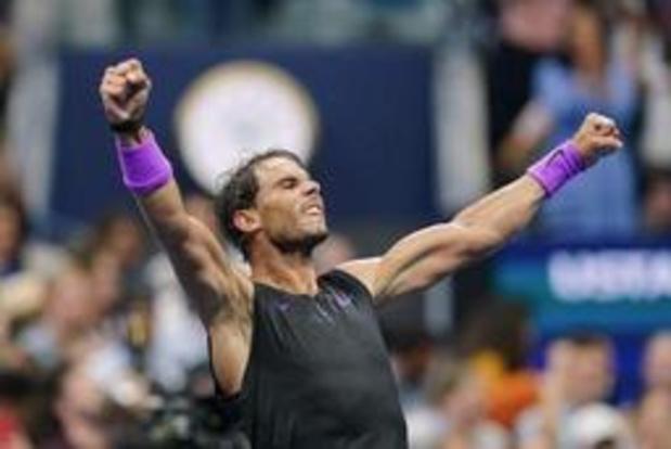 US Open - Nadal rekent vlot af met Cilic