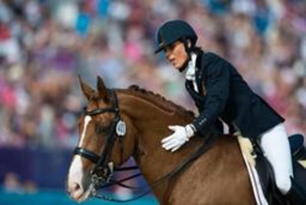 Euro d'équitation - La Belgique manque la médaille de peu dans l'épreuve par équipes en para-dressage