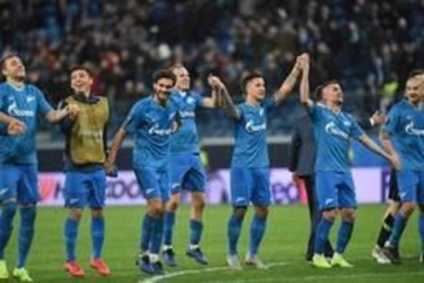 Le Zenit champion de Russie pour la cinquième fois