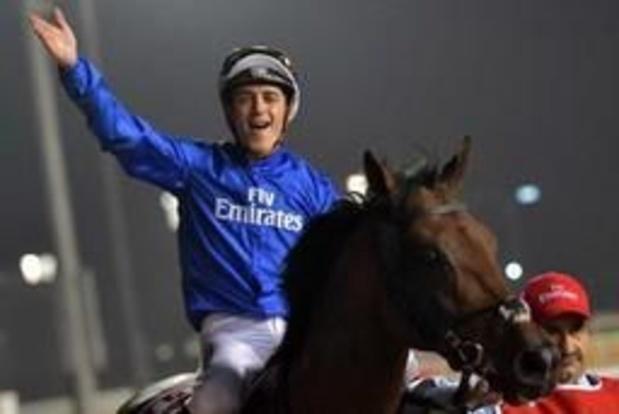 Soumillon en Thunder Snow winnen Dubai World Cup tweede jaar op rij