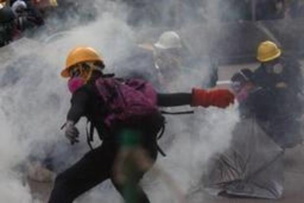 Meer dan 80 betogers gearresteerd in Hongkong