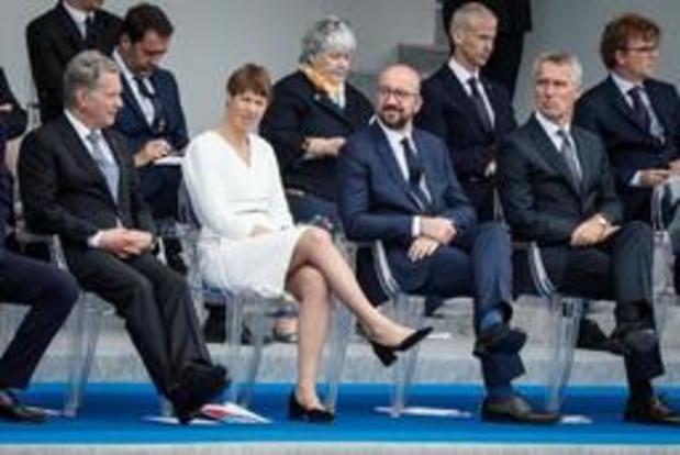 Michel pleit voor meer Europese samenwerking op vlak van defensie