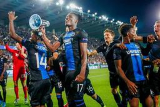 Racing Genk en Club Brugge komen in loodzware CL-groepen terecht