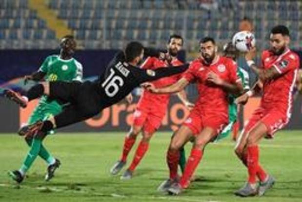 Africa Cup 2019 - Senegal naar finale na owngoal van Tunesiër Bronn