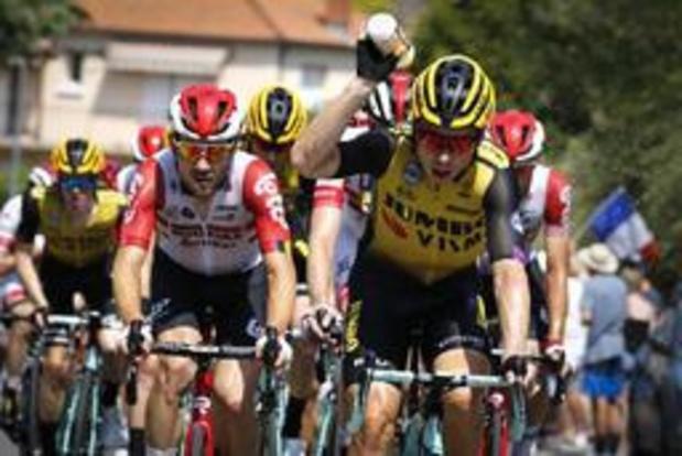 Luke Rowe en Tony Martin uit de Tour gezet