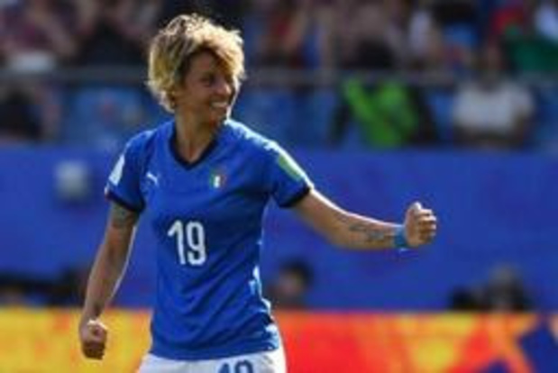 WK vrouwenvoetbal - Italië naar kwartfinales WK ten koste van China