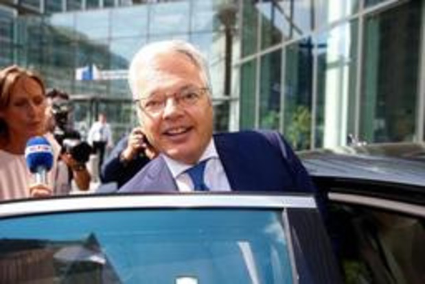 Reynders EU-commissaris - Reynders genoemd als Europees Commissaris voor Begroting