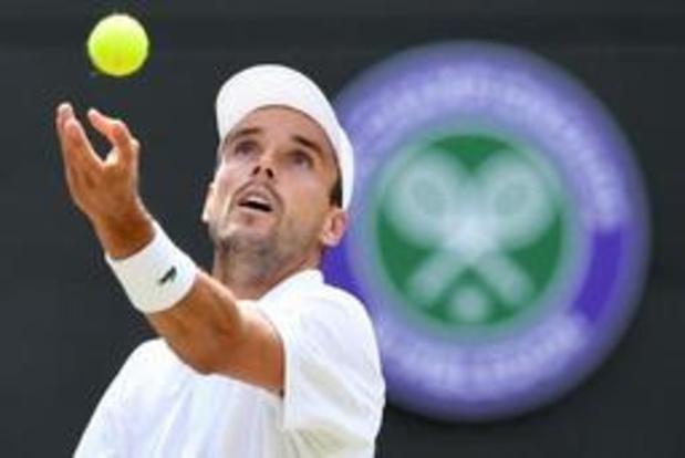 Roberto Bautista Agut staat in zijn eerste halve finale op Wimbledon