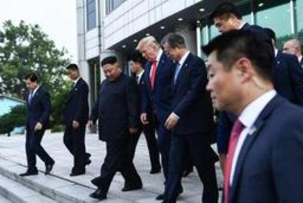 "Ontmoeting Trump-Kim - Ontmoeting was ""historisch"", ""buitengewoon"""