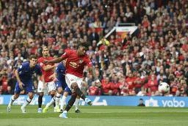 Premier League - Manchester United geeft Chelsea pandoering
