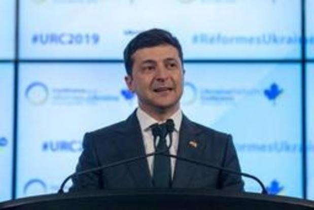 L'Ukrainien Zelensky veut rencontrer Poutine pour des pourparlers de paix à Minsk