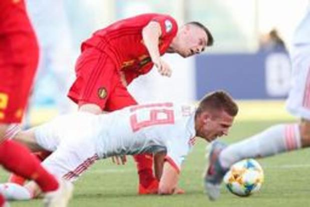 """EK U21 (m) - Bryan Heynen na uitschakeling: """"Dit verdienden we niet"""""""