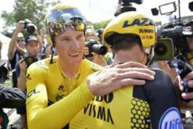 """Tour de France - """"Winnen als ploeg is nog mooier"""", zegt gele trui Mike Teunissen"""