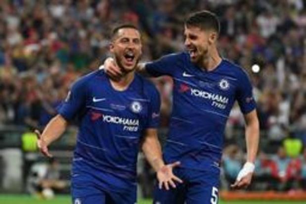 Europa League - Chelsea et un Hazard triplement décisif décrochent leur deuxième Europa League